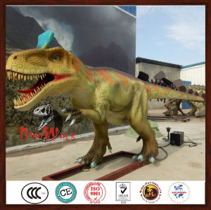 Amusement Park Christmas Dinosaur Decoration For Shopping Mall