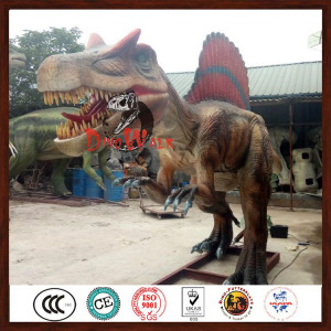 Theme Park Decorations Dinosaur Playground Equipment
