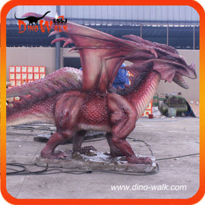 Animatronic dragon for amusement park