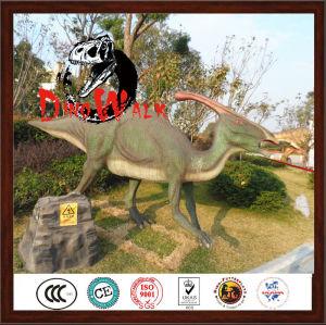 Jurassic fiberglass dinosaur model