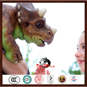 hot sale animatronic dinosaur puppet for kids