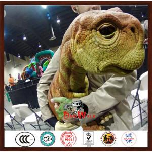 hot sell animatronic dinosaur puppet for dinosaur show