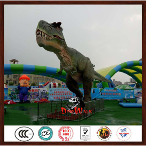 animatronic dinosaur model Trex for dinosaur park