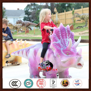hot sale high quality animatronic dinosaur scooters for kids