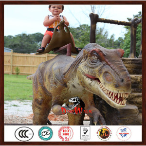 cheapest price animatronic dinosaur rides for amusment park