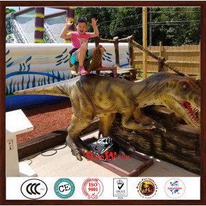 Hot Sale Coin Control Amusement Dinosaur Park Rides