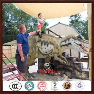 Kids Attractive Dinosaur Indoor Amusement Park Rides