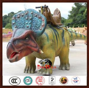 walking dinosaur rides for kids in park