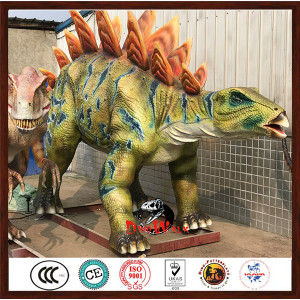 high quality animatronic stegosaurus model from China factory