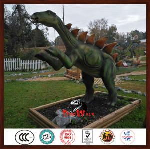 hot sale  animatronic stegosaurus dinosaur for dino park