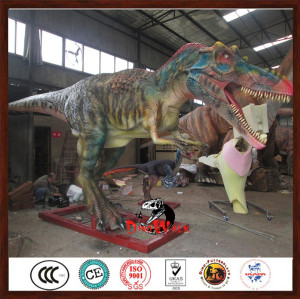 simulation dinosaur model animatronic statue with cheapest price