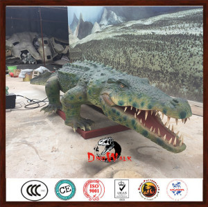 animatronic crocodile model simulation animals for zoo