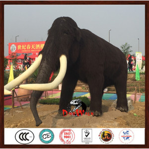 hot sale animatronic mammoth with high quality
