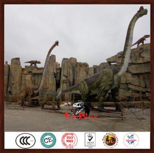 20m long animatronic brachiosaurus dinosaur model for dinosaur park