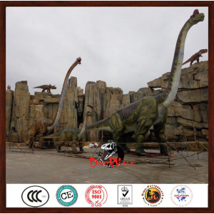 20m long animatronic brachiosaurus dinosaur model for dinosaur park