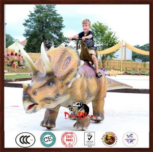 hot sale walking animatronic dinosaur ride for amusment park