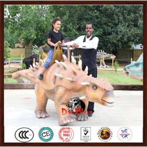 2018 best seller walking animatronic dinosaur ride for kids