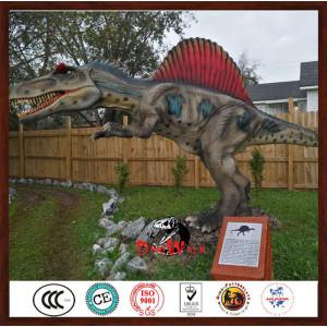 6m long animatronic Spinosaurus dinosaur model for parks