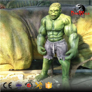 High simulation realistic hulk costume with muscle for sale