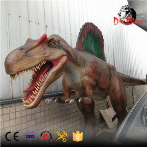 Theme Park amazing art moving Animatronic Dinosaur Spinosaurus