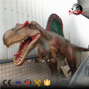 Theme Park amazing art moving Animatronic Dinosaur Spinosaurus