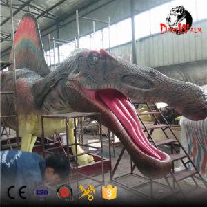 Life size animatronic dinosaur