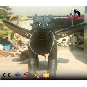 Amuseum park animatronic dragon ride for sale