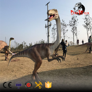 animatronic Ornithomimus sdinosaur model for dinosaur park
