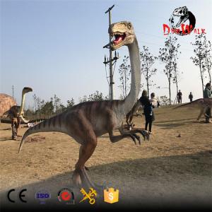 animatronic Ornithomimus sdinosaur model for dinosaur park
