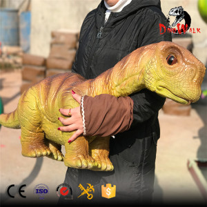 animatronic brachiosaurus puppet with high quality