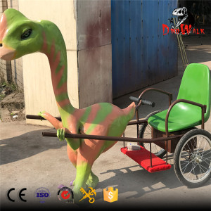 best seller animatronic dinosaur rickshaws for kids