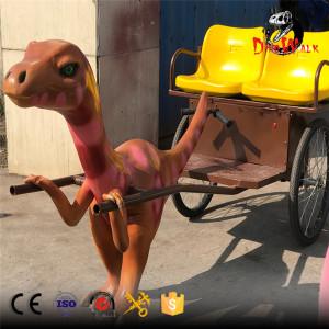 Best seller animatronic dinosaur rickshaw for kids