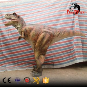hidden legs animatronic dinosaur costume for adult