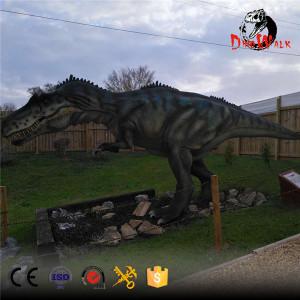 animatronic allosaurus dinosaur model for dinosaur park