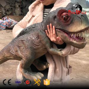 animatronic Trex dinosaur hand puppet