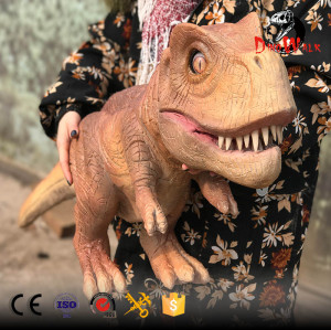 low price animatronic dinosaur hand puppet