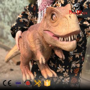 low price animatronic dinosaur hand puppet