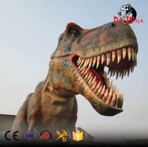 high quality 10m long animatronic dinosaur model