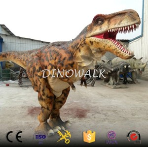 Realistic Life Size Hidden Legs Walking Dinosaur Costume