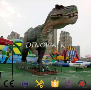 Huge animatronic dinosaur life size T-rex model for sale