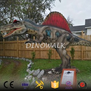 2018 New 3D waterproof robot dinosaur model for sale
