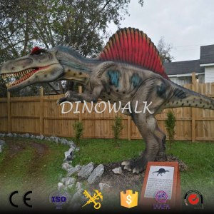 2018 New 3D waterproof robot dinosaur model for sale