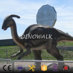 2018 New Realistic animatronic dinosaur model for sale