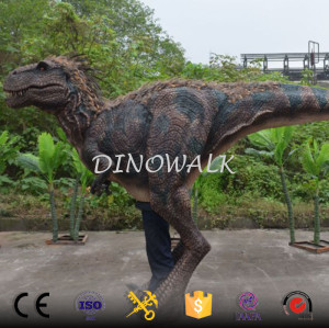 Walking Feathered Dinosaur Costume T-rex Suit For Adult