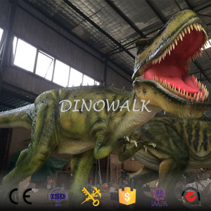 Realistic Life Size Animatronic Dinosaur For Sale