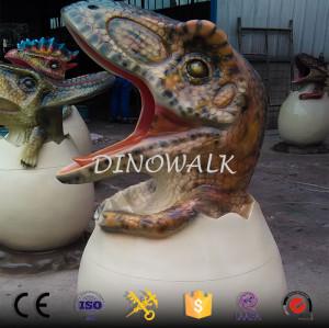 Hot Sale Playground Equipment Dinosaur Trash Can T-rex
