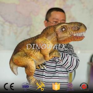 Baby dinosaur hand puppet robot T-rex