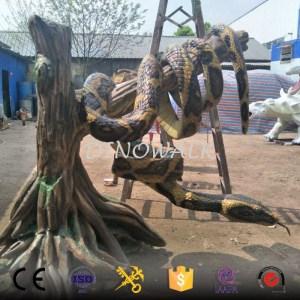 Simulation Life size Animatronic Snake for Sale