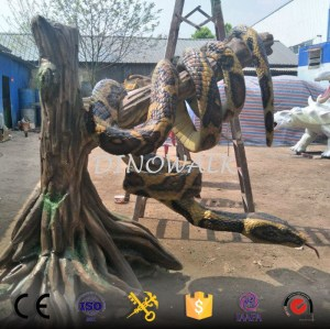 Exhibition Animal Replica Robotic Realistic Snake