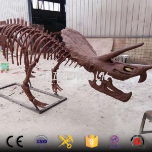 Large science artficial dinosaur skeleton replicas model